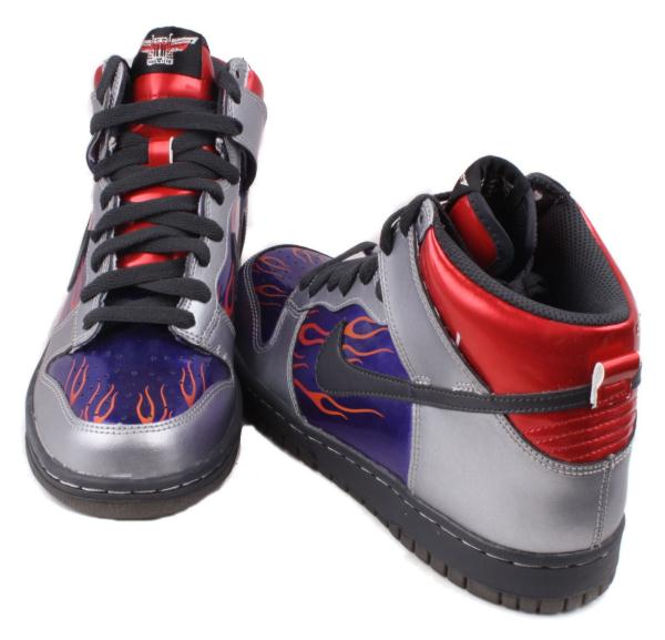 Galerry boys red high top shoes