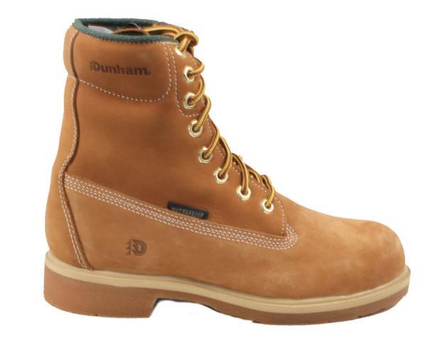 Dunham Alpine Hi Mens Wheat Steel Toe Waterproof Leather