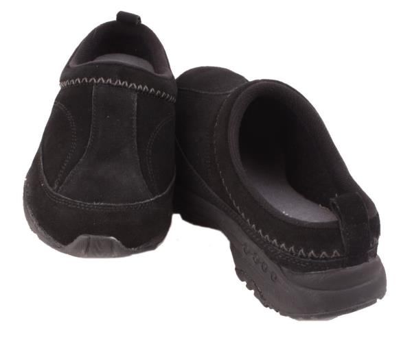 easy-spirit-Tangles-Womens-Black-Suede-Slip-On-Casual-Shoes