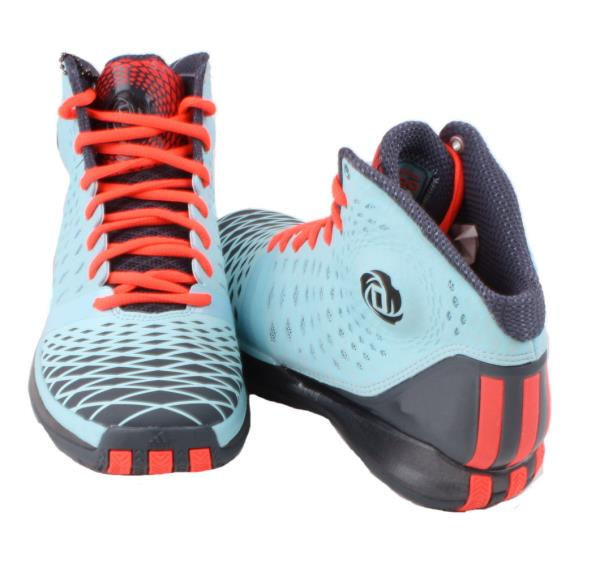 adidas-D-Rose-3-5-Boys-Unisex-Youth-Blue-Orange-Mid-Top-Basketball-Sneakers