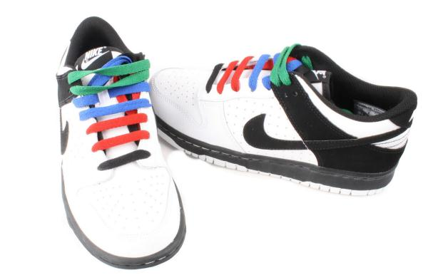 Nike-Dunk-Low-Youth-White-Black-Sneakers-Shoes-310569-103-Medium