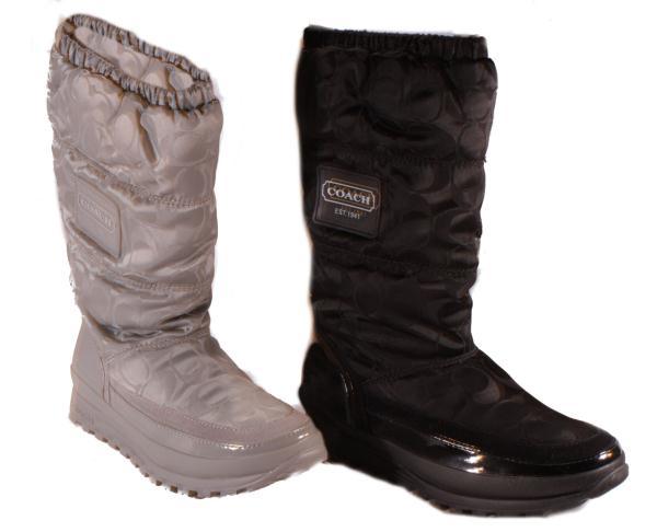 coach winter boots black national sheriffs association