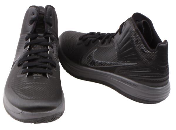 Details about Nike Lunar Hypergamer Mens Black/Dark Grey High Top