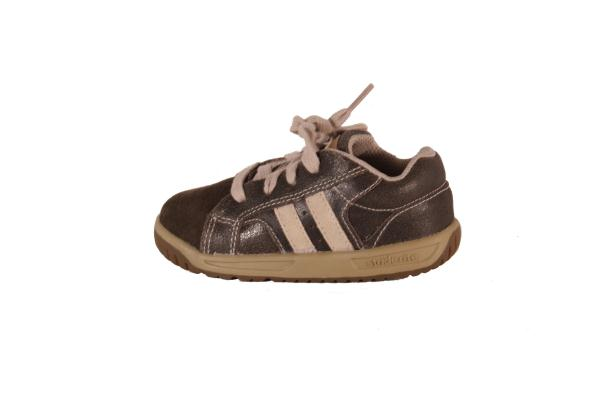 Details about Stride Rite Brown / Sand Sprout Leather Walking Sneakers