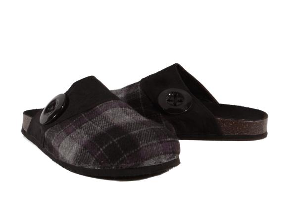 Details about Hot Cakes Black Misty Slides Womens Shoes size US Medium