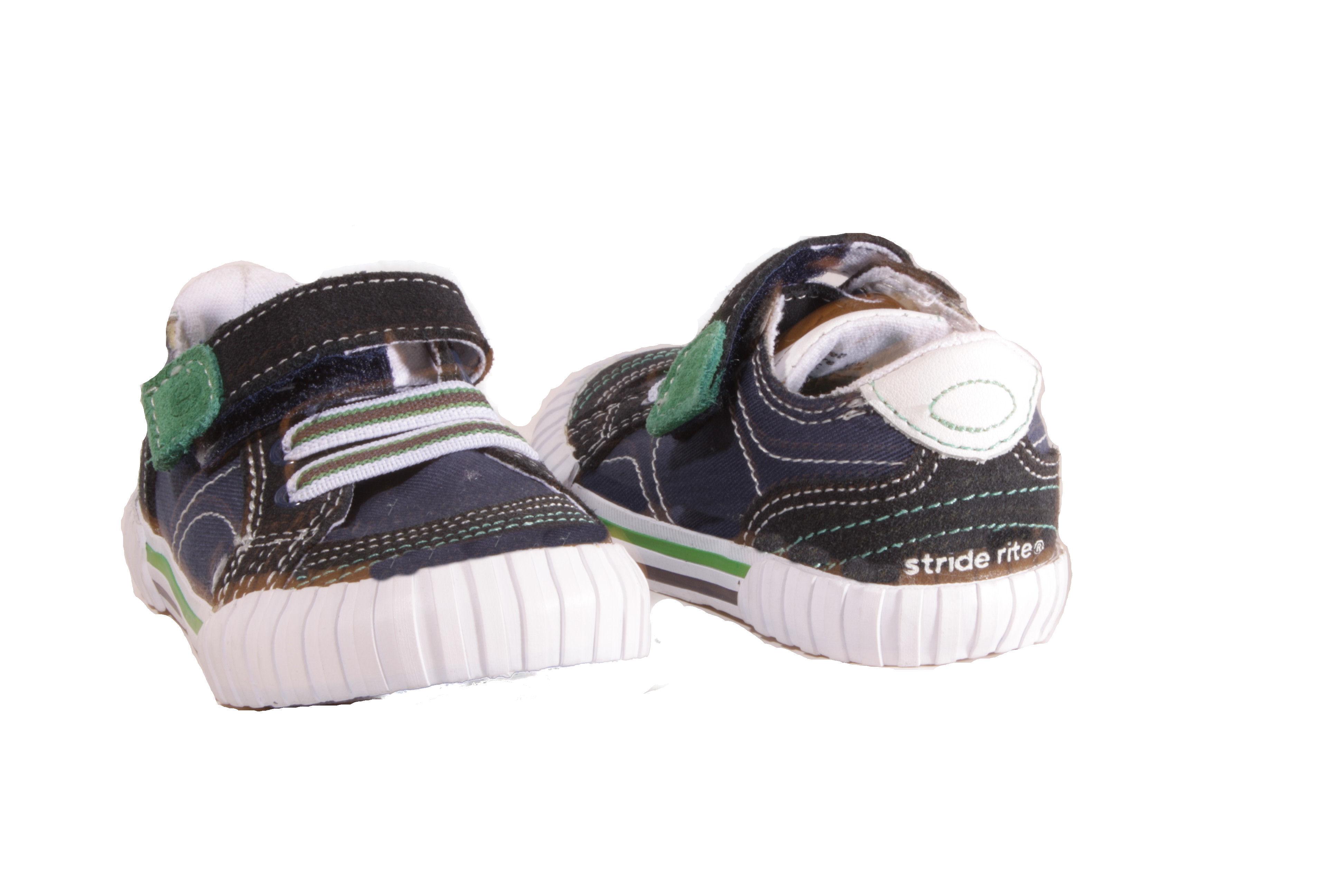 Stride-Rite-Green-or-Blue-Caleb-Casual-Sneakers-Boy-Infants-Toddlers-Sneakers