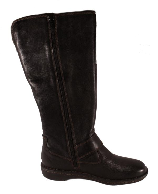 boc born womens isolde black leather knee high boots