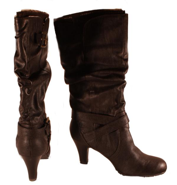 g by guess womens gg trinnie brown mid calf dress
