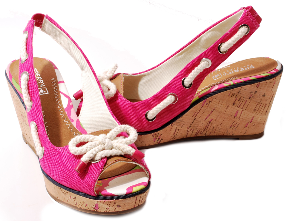 Sperry-Top-Sider-Womens-Shoes-Southport-Canvas-Peep-toe-Wedge-Heel