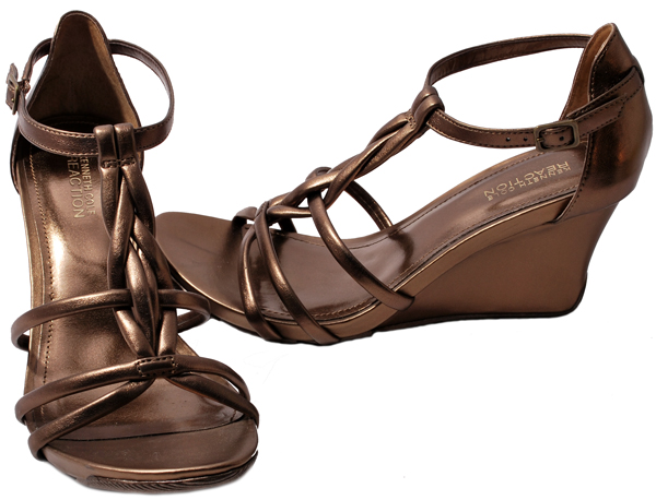 Kenneth-Cole-Reaction-Womens-Shoes-Bronze-Musical-Cedar-MT-Wedge-Heel