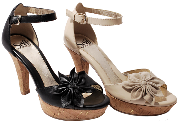 Sofft Analise Mary Jane Shoes - Leather, Wedge Heel (For Women) in Twine