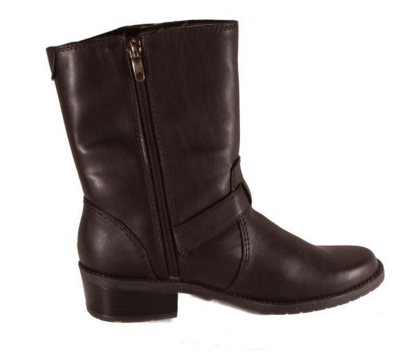 Anne Klein Womens Laski Dark Brown Size Medium Width Boots